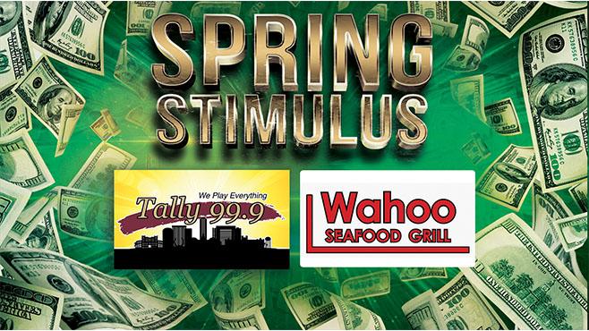 Tally 99.9 Spring Stimulus